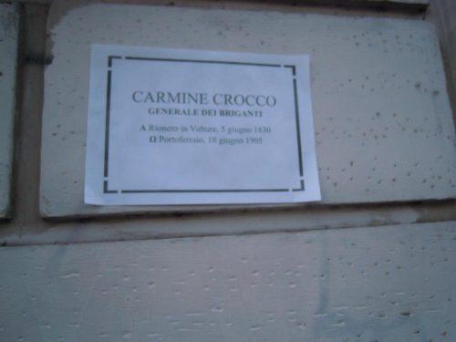 A Roma spuntano strade dedicate ai Briganti