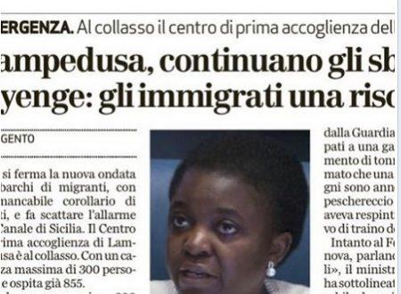 Lega Nord di Legnano al Ministro Kyenge: Ebete