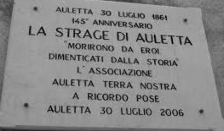 30 Luglio 1861: la strage di Auletta