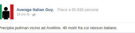 "Tragedia di Monteforte Irpino: Vergognosa ""ironia"" (?!?) in rete"