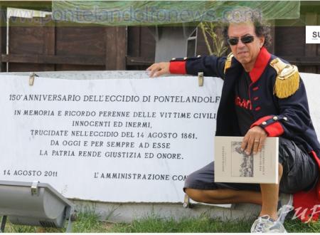 Mimmo Cavallo rende onore ai martiri di Pontelandolfo