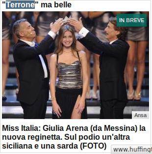 """""""Terrone"""" ma belle…"""