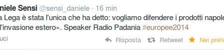 Radio Padania: solo la lega ha difeso i prodotti napoletani