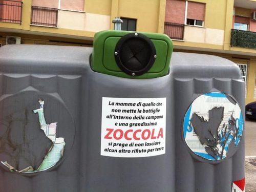 Persuasione alla raccolta differenziata made in Napoli