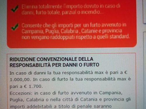 """Volete noleggiare un auto al Sud? Per voi condizioni diverse dagli altri """"italiani"""""""