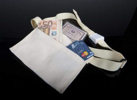 In vendita online il borsello antiscippo per visitare Roma