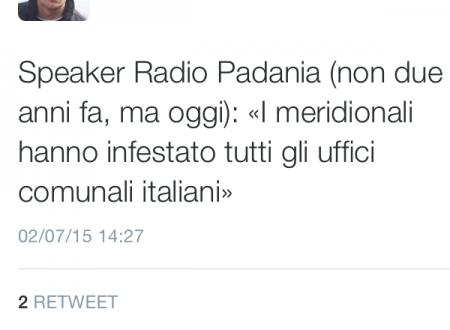 """Radio Padania e gli impiegati """"meridionali"""" negli uffici pubblici"""