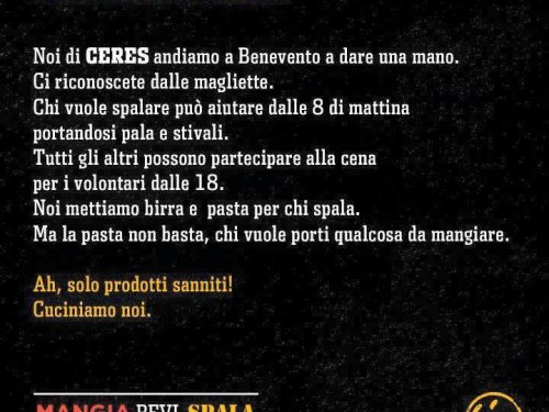 #SaveRummo #SaveSannio: Ceres c'è, Renzi no.