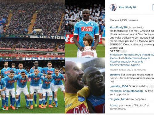 NAPOLI ANTIRAZZISTA / Al San Paolo i tifosi sono tutti Koulibaly. E finiscono sulle prime pagine del mondo: da The Guardian alla Bbc