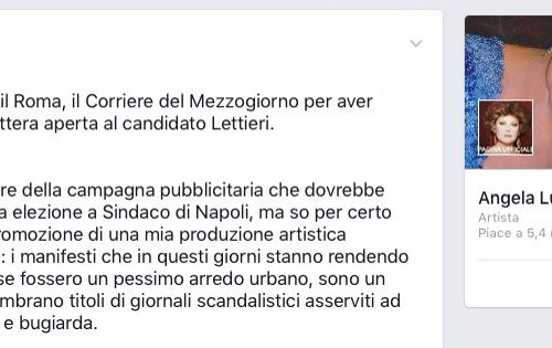 Angela Luce: caro Lettieri, basta stereotipi su Napoli