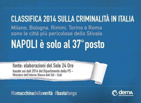 DemA: ecco i numeri della amministrazione De Magistris. Basta fango su Napoli.