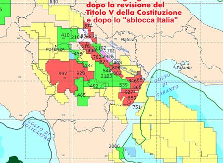 Per l'Italia, la Basilicata è ufficialmente un distretto minerario