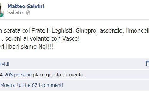 Salvini, che fa, concilia? E poi diceva che Napoli era la capitale delle multe evase…
