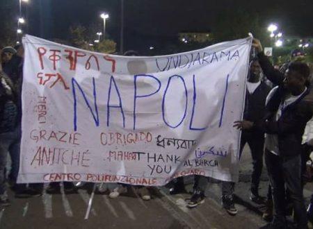 Immigrati: allo stadio per ringraziare Napoli