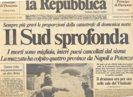 #Ionondimentico quel 23 novembre in Irpinia e quel suono (video)