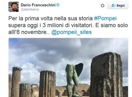 POMPEI è record di visitatori nella sua storia