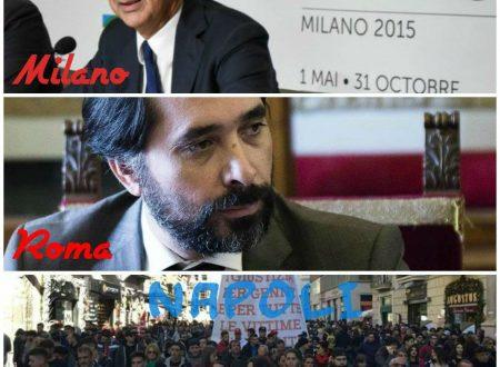 """Mentre """"altrove"""" avvisi di garanzia e arresti, a Napoli #unpopoloincammino contro la camorra"""