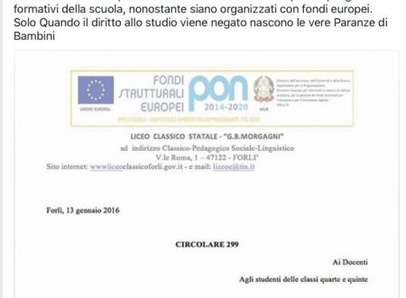 A Forlì una paranza di savianisti?