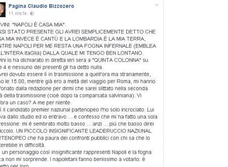 """Il sindaco lumbard duro e puro: """"Napoli fogna"""". Se questo è un sindaco…"""