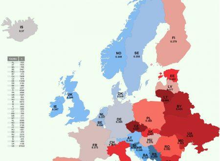 Italia nella top 10 dei paesi europei con maggiori pregiudizi