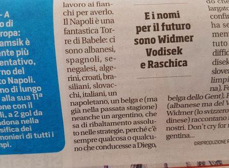 Sul Corriere dello Sport: c'erano un italiano, un belga e un napoletano