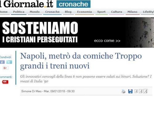 La mezza bufala dei treni troppo largi per il metrò di Napoli