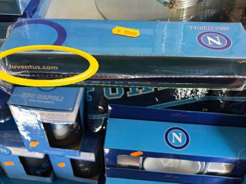 GADGET INQUIETANTI / Perché il sito della Juve sui prodotti del Napoli?