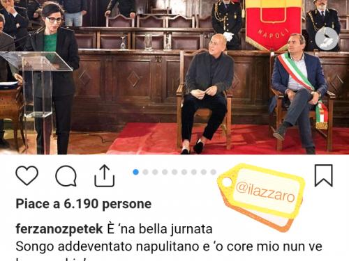 """Ferzan Ozpetek diventa """"napoletano"""""""