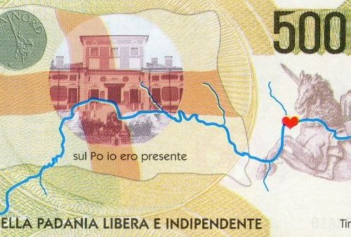 La banconota della Padania indipendente
